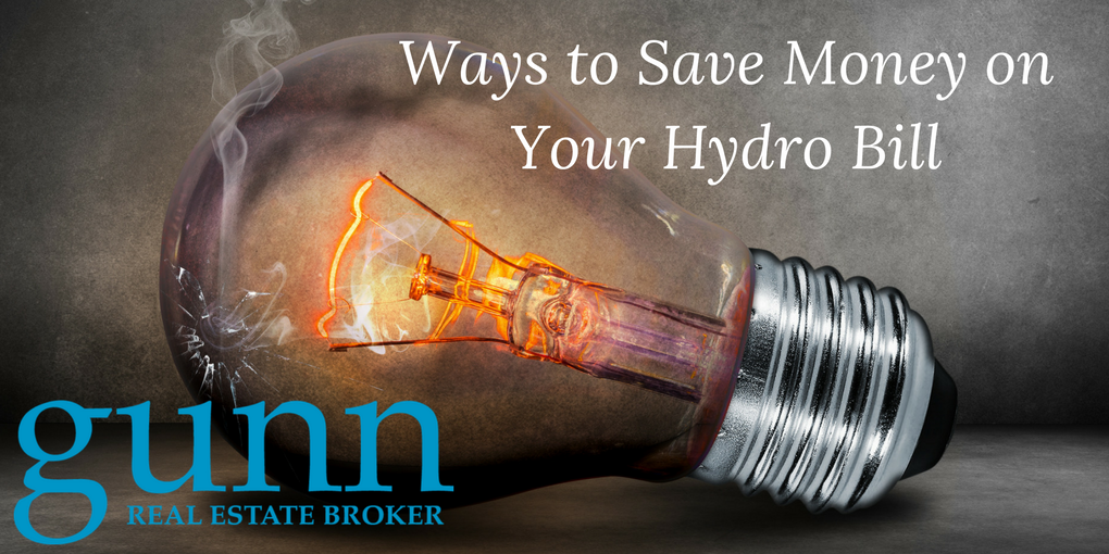 Ways to Save Money on Your Hydro Bill